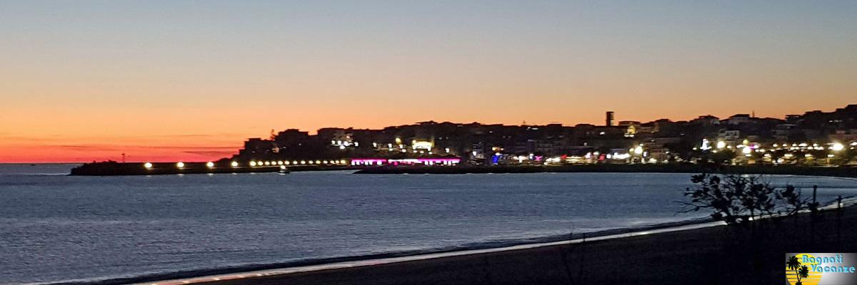 Vista Notturna Marina di Camerota