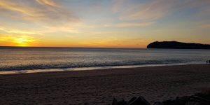Tramonto in Spiaggia del Mingardo